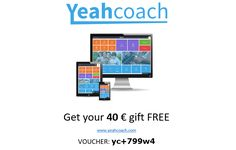 YeahCoach is application where you can find all you need for your personal growt.This application is a complex solution for everyone who is willing to improve his personal life, work and enterprise. YeahCoach is a practical help containing unique tools, materials, books and live actions from the best coaches, lectors and authors from all over the world.  Join The Revolution! Free cuppon: yc+799w4   https://www.yeahcoach.com/en/+799w4/