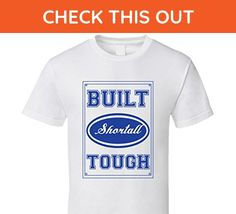 Built Shortall Tough Strong Car Lover Last Name Family Reunion T Shirt S White - Relatives and family shirts (*Amazon Partner-Link)