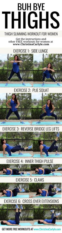 The Best Inner thigh Exercises | Posted By: CustomWeightLossProgram.com