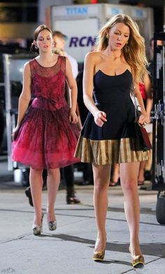 Gossip Girl Fashion- Love Serena's dress