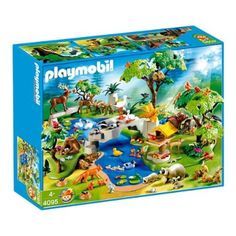 playmobil animals | PLAYMOBIL 4095 HUGE ANIMAL PARADISE 200 PIEC. EXCLUSIVE
