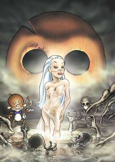 Leo Ortolani - Copertina Speciale Venerdì 12 2 (Colori Larry) Rat Man, Rats, Larry, Comics, Anime, Cartoon Movies, Cartoons, Anime Music, Comic