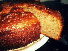 Levinho, delicioso e cheinho de fibras!! Bolo de casca de banana ~ Vida na Cozinha