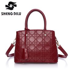 Top-Handle bags inclined shoulder ladies hand bag Women Genuine leather handbag sac 2016 woman bags handbags women famous brands  #men #me #women #bags #smartwatch #gift #photooftheday #trendy #gloves #kids #selfie #followme #accessories #baby #love