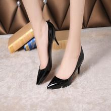Fashion Brand Ladies Patent Leather Pointed Toe Women Pumps Red Bottom High Heels Sexy Stiletto Valentine