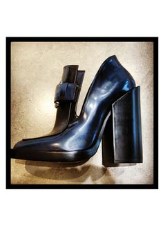 HOTTEST SHOES OF FALL 2013: JIL SANDER With their chunky heel, these Jil Sander cut-out ankle boots are not only on-trend but also comfortable to walk in