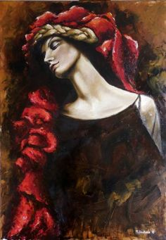 "Saatchi Art Artist Tatiana Siedlova; Painting, ""(Νέμεσις) ""Nemesis""."" #art"