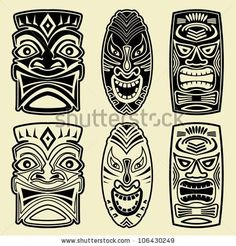 Hawaiian Warrior mask - Google 검색