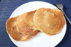 PANCAKES CU BANANE (FARA OU) Pancakes, Cheesecake, Breakfast, Recipes, Food, Tudor, Banana, Chef Recipes, Cooking