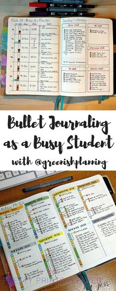 Management : Use the bullet journal to stay sane as a student check out tips from Jady on t
