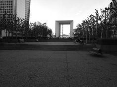 Grande arco La Défense - Foto: Arquiteta Cláudia F. Ferreira