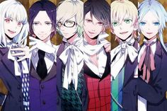 Makai Ouji: Devils and Realists - Michael, Kevin, Camio, Dantalion, William Twining and Sitri