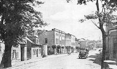 Years 1930-1940, Street Głubczycka.