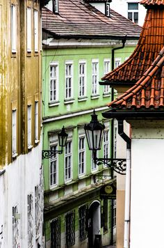 allthingseurope:  A street in Prague (by David Douša)