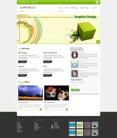 CHRONICLE - Template for IT firm - Get it #Free From #Template Eden http://templateeden.com/product/outreach-template-for-it-firm/ #website #html #css #jquery #css3 #html5