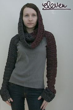 Epic Shrug! It looks almost post-apocalyptic! MUST MAKE!!!