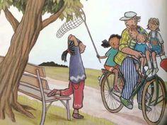 Digitaal prentenboek: Met opa op de fiets