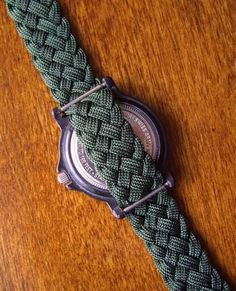 paracord watch band