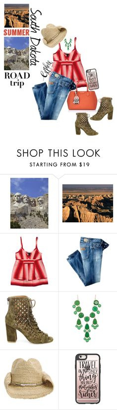 """The Midwest Summer Road Trip"" by juliehooper ❤ liked on Polyvore featuring Marc by Marc Jacobs, Just Cavalli, Steve Madden, Natasha Accessories, Flora Bella, Casetify, Karl Lagerfeld, roadtrip, mountrushmore and badlands"
