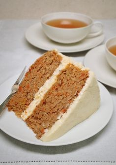 **Use Swerve & shaved almonds instead of carrots & unsweetened coconut milk instead of whole milk. Carrot Cake – Gluten Free, Low Carb, Sugar Free Ingredients For the Cake: 2 cups almond flour (also called almond meal) cup coconut fl. Sugar Free Deserts, Sugar Free Recipes, Almond Recipes, Low Carb Recipes, Diabetic Recipes, Diabetic Friendly Desserts, Healthy Recipes, Keto Desserts, Gluten Free Desserts