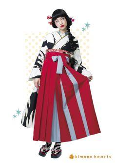 #袴 kimono hakama                                                                                                                                                                                 もっと見る