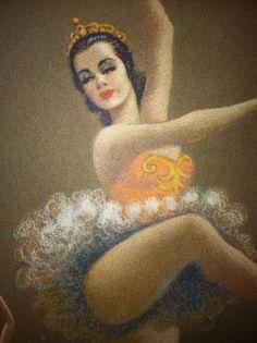 Ballerina dances