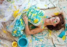 Trashing the dress! Brides wear their wedding dresses for photo shoots in locations that are anything but glamorous -- from junkyards and railroad tracks to swamps and even underwater. See more photos for ideas!