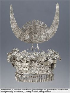 Chinese aluminum crown.