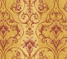 Architectural Damask Wallpaper $24.99