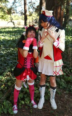 https://flic.kr/p/Au9yh9   Yazawa Nico (矢澤にこ) and Sonoda Umi (園田海未), from the Love Live! series (ラブライブ!)