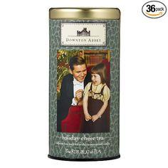 The Republic Of Tea Downton Abbey Holiday Cheer Tea, 36 Tea Bags, Herbal Christmas Tea