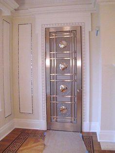 Steel Doors | Bullet Resistant Products | Gaffco Ballistics Panic Rooms, Safe Room, Secret Rooms, Steel Doors, Create Space, Townhouse, Armoire, Bullet, Room Ideas