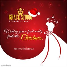 This Christmas flaunt your fashion and celebrate the auspicious and joyful occasion in style. Merry Christmas!  #christmas2018 #merrychristmas #fashionable #celebrations #style #joyful #auspicious #santaclaus #christmasvibes #specialoccasions #glamour #glitz #designerdresses #exclusivecollection #fashiongram #womensfashion #gracestudio #haneetsingh