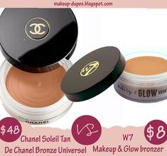 Makeup dupes: Soleil Tan De Chanel dupe