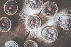 Dark chocolate and raspberry tarts   The Simple Things magazine image