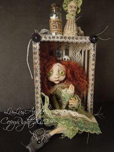 voodoo art doll -