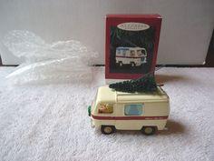 "Hallmark 1995 Keepsake Ornament Merry RV "" IOB "" BEAUTIFUL COLLECTIBLE ITEM """