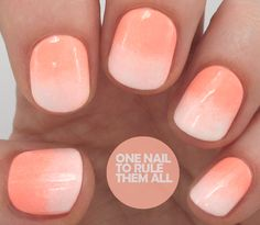 Models Own - Polish For Tans Gradient - One Nail To Rule Them All
