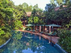 Siem Reap Angkor Village Resort & Spa Cambodia, Asia The 5-star Angkor Village Resort & Spa offers comfort and convenience whether you're on business or holiday in Siem Reap. Offering a variety of facilities and services, the hotel provides all you need for a good night's sleep. Facilities like 24-hour security, daily housekeeping, fax machine, gift/souvenir shop, photocopying are readily available for you to enjoy. Designed for comfort, selected guestrooms offer television LC...