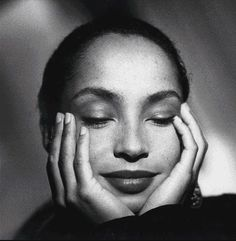 Sade a GREAT beauty.  http://croweknees.com/Images/sade-bw.jpg