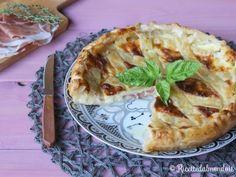 Crostata salata con Prosciutto crudo e Stracchino