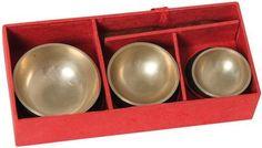 Mini-Klangschalen-3er-Set in Geschenkbox 110305