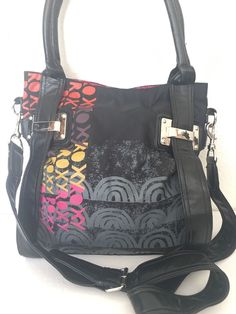Roxy Bag Crosdbody Messenger Designer Fashion Hip Female Black  | eBay