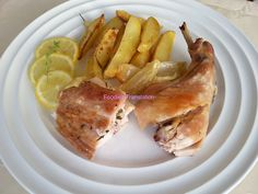 Foodie in Translation: Coniglio al timo e al limone - Baked rabbit with t...