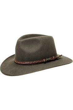 Hombre Sombreros - Lawson Fieltro Sombrero de Australia 60 Sombreros  Hombre 69000afb2283