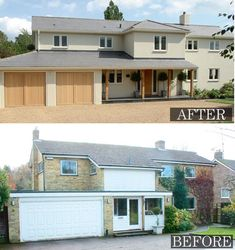 Best home renovation exterior decor 31 ideas Home Exterior Makeover, Exterior Remodel, House Cladding, Facade House, Rendered Houses, House Makeovers, House Extensions, House Front, Exterior Design