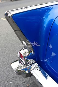 Wing on the 1957 Chevy Bel-Air.