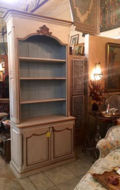 French Country Furniture, Country French, Custom Furniture, Painted Furniture, Mall, Bookcase, Shelves, Deep, Antiques