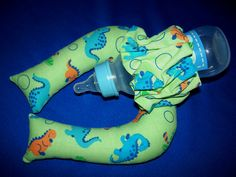 Baby Bottle Prop Pillow -- a must for moms of multiples!!!