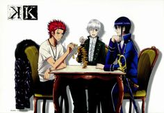 K Project (Yashiro Isana, Mikoto Suoh, Reishi Muna